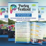 Purley Festival 2014 Sponsorship Leaflet